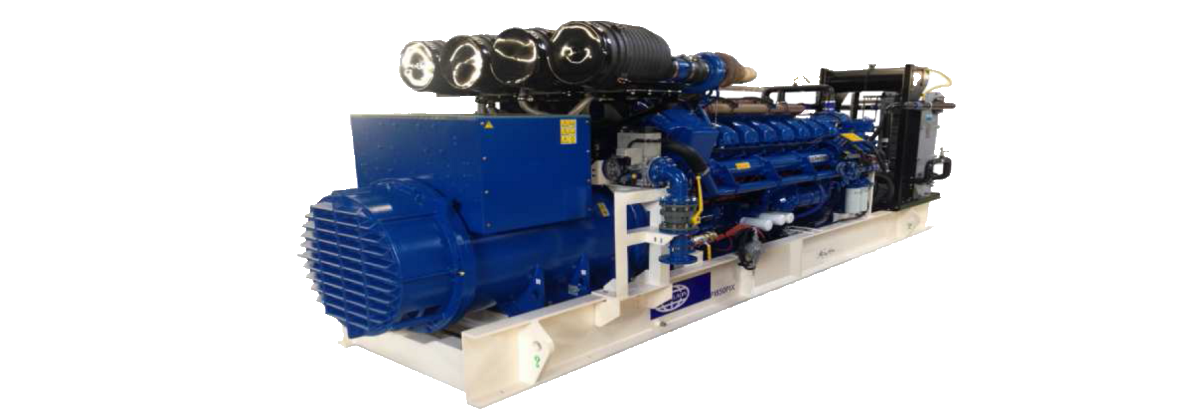 Bi-fuel generating sets L