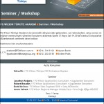 Seminer / Workshop